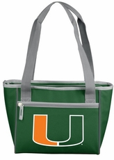 Miami Hurricanes 16 Can Cooler Tote