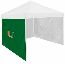 Miami Hurricanes Side Panel for Logo Tents