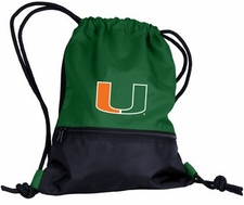 Miami Hurricanes String Pack / Backpack