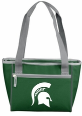 Michigan State Spartans 16 Can Cooler Tote