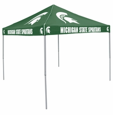 Michigan State Spartans Green Logo Canopy Tailgate Tent