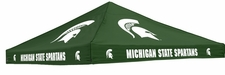 Michigan State Spartans Green Logo Tent Replacement Canopy