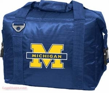 Michigan Wolverines 12 Pack Small Cooler