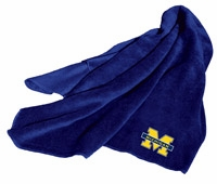 Michigan Wolverines Fleece Throw
