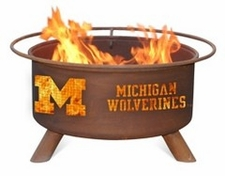 Michigan Wolverines Outdoor Fire Pit