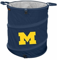 Michigan Wolverines Tailgate Trash Can / Cooler / Laundry Hamper