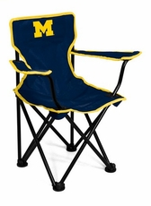 Michigan Wolverines Toddler Chair