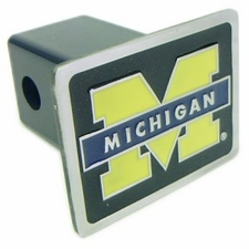 Michigan Wolverines Trailer Hitch Cover