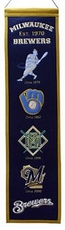 Milwaukee Brewers 8x32 Heritage Banner