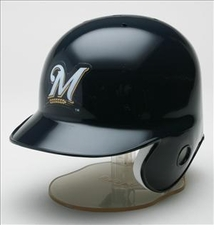 Milwaukee Brewers Riddell Mini Baseball Batting Helmet