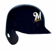 Milwaukee Brewers Right Flap Rawlings Authentic Batting Helmet