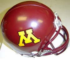 Minnesota Golden Gophers 2006 Throwback Replica Mini Helmet