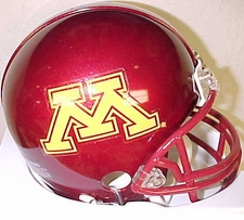 Minnesota Golden Gophers 2007 Throwback Replica Mini Helmet