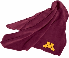 Minnesota Gophers Fleece Throw