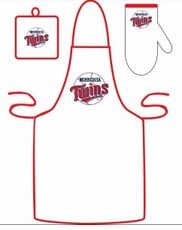 Minnesota Twins Cooking / Grilling Apron Set