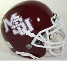 Mississippi State Bulldogs 1994-2003 Schutt Throwback Mini Helmet