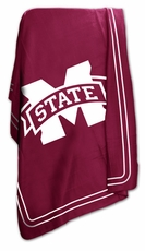 Mississippi State Bulldogs Classic Fleece Blanket