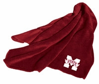 Mississippi State Bulldogs Fleece Throw