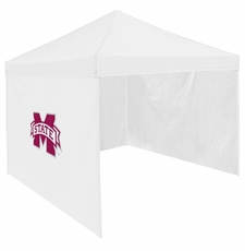 Mississippi State Bulldogs White Side Panel for Logo Tents