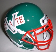 Mississippi Valley State Delta Devils 1984 Schutt Throwback Mini Helmet