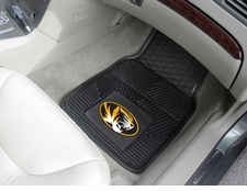 Missouri Tigers 2-Piece Heavy Duty Vinyl Car Mat Set