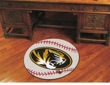 "Missouri Tigers 27"" Baseball Floor Mat"