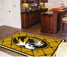 Missouri Tigers 4'x6' Floor Rug