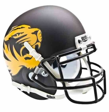 Missouri Tigers Alternate Matte Schutt Authentic Mini Helmet