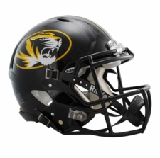Missouri Tigers Riddell Revolution Speed Authentic Helmet