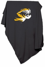 Missouri Tigers Sweatshirt Blanket