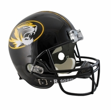 Missouri Tigers Tiger in Oval Riddell Deluxe Replica Helmet