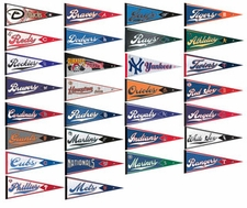 MLB Full Size Pennant Set - 30 Teams