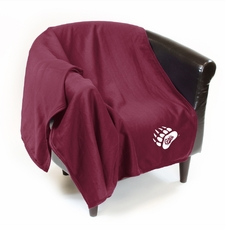 Montana Grizzlies Sweatshirt Throw Blanket