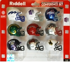 Mountain West (MWC) Pocket Pro Conference Helmet Set(Not Currently Made)