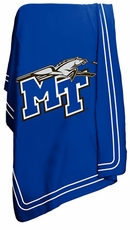 MTSU Blue Raiders Classic Fleece Blanket