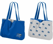 MTSU Blue Raiders Reversible Tote Bag