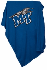 MTSU Blue Raiders Sweatshirt Blanket
