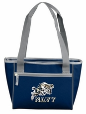 Navy (Naval Academy) Midshipmen 16 Can Cooler Tote