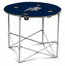 Navy (Naval Academy) Midshipmen Round Tailgate Table