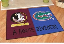 "NCAA House Divided Floor Mats - 34"" x 45"" ($38.99)"