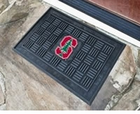"NCAA Mediallon Door Mats - 19"" x 30"" ($19.95)"