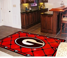 NCAA Floor Rugs - 4' x 6' ($129.99)