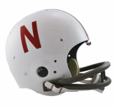 Nebraska Huskers 1970-1981 Riddell NCAA TK 2-Bar Suspension Throwback Full Size Helmet