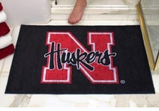 "Nebraska Huskers 34""x45"" All-Star Floor Mat"