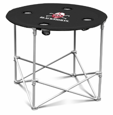 Nebraska Huskers Blackshirts Round Tailgate Table