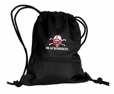Nebraska Huskers Blackshirts String Pack / Backpack