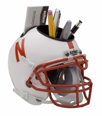 Nebraska Huskers Helmet Desk Caddy