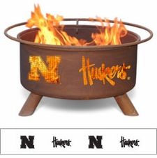 Nebraska Huskers Outdoor Fire Pit