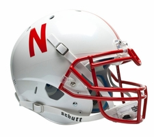 Nebraska Huskers White Schutt XP Authentic Helmet