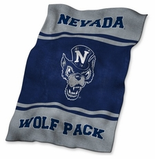Nevada Wolfpack UltraSoft Blanket